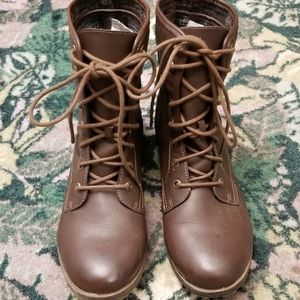 Brown 2-way Boots
